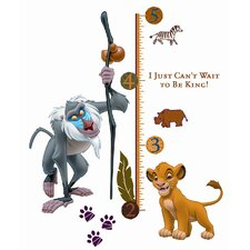 27 Piece Lion King Rafiki Giant Growth Chart Set