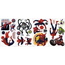 Spiderman Ultimate Spiderman Peel and Stick Wall Decals