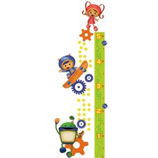 Team Umizoomi Peel and Stick Growth Chart Wall Decals