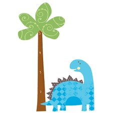 Babysaurus Peel and Stick Growth Chart Wall Decals