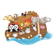Noah's Ark Peel and Stick Giant Wall Decals