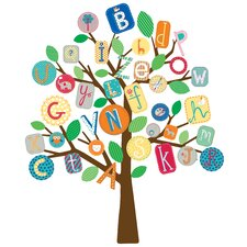 ABC Tree Peel and Stick Giant Wall Decals