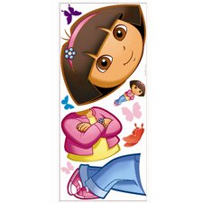 Favorite Characters 9 Piece Nickelodeon Dora The Explorer Giant Wall Decal Set