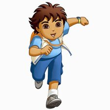 Favorite Characters 19 Piece Nickelodeon Go Diego Go! Giant Wall Decal Set
