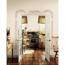 Berry Vine Peel and Stick Wall Decals