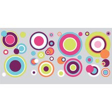 Peel & Stick Crazy Dots Wall Decal