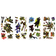 Teenage Mutant Ninja Turtles Wall Decal Set