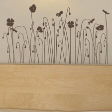 Mia & Co Floral Arc Wall Decal