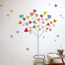 Mia & Co Heart Tree Wall Decal