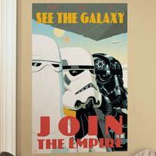 Peel & Stick Giant Wall Decals/Wall Stickers Star Wars Classic Join The Empire Wall Decal
