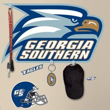 10 Piece Peel & Stick Giant Wall Decals/Wall Stickers Georgia Southern University Wall Decal Set