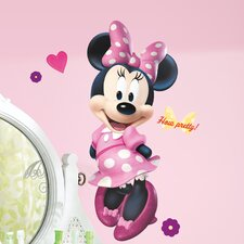 <strong>Room Mates</strong> Mickey and Friends Minnie Bowtique Giant Wall Decal