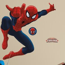 Spiderman Ultimate Spiderman Peel and Stick Giant Wall Decal