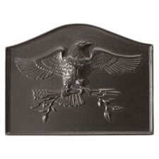 American Eagle Cast Iron Fire Back