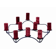 <strong>Minuteman International</strong> Williamsburg Iron Contours Hearth Candelabra