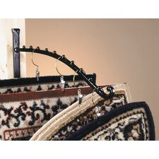 Rug Rack Bracket plus 10 Hangers