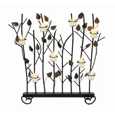 Summer Wrought Iron Fireplace Screen
