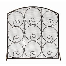 <strong>Minuteman International</strong> Twigs Wrought Iron Fireplace Screen