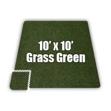 SoftCarpets Set in Grass Green