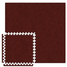 <strong>Alessco Inc.</strong> Economy SoftCarpets Set in Burgundy
