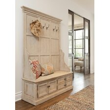 Elodie Pine Storage Entryway Bench