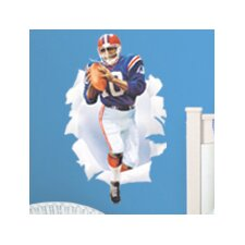 <strong>Blue Mountain Wallcoverings</strong> Football Player Breakout Wall Decal