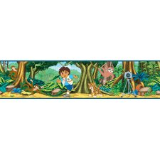 Nickelodeon Go Diego Go! Self Stick Border in Blue