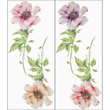 <strong>Blue Mountain Wallcoverings</strong> Poppy Wall Decal