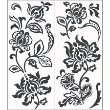 Deep Damask Wall Art