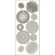 <strong>Blue Mountain Wallcoverings</strong> Going In Circles Wall Decal
