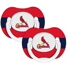 MLB 2 Pack Baby Pacifiers