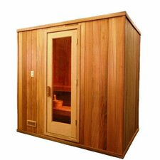 4-6 Person Prebuilt Sauna