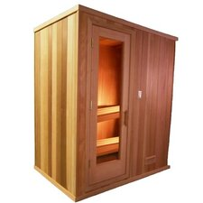 2 Person Prebuilt Sauna