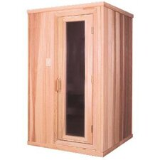 1-2 Person Prebuilt Sauna
