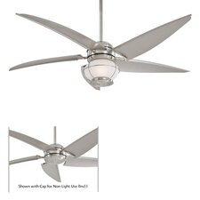 "<strong>Minka Aire</strong> 60"" Magellan 5 Blade Ceiling Fan with Remote"