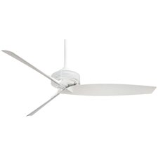 "62"" Gilera 3 Blade Ceiling Fan with Wall Remote"