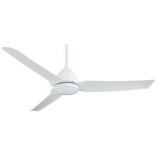 "Java 54"" 3 Blade Ceiling Fan with Remote"