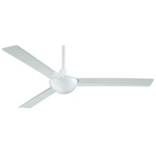 "<strong>Minka Aire</strong> 52"" Kewl 3 Blade Ceiling Fan with Wall Remote"