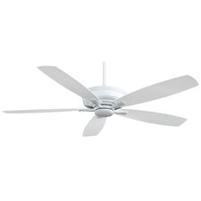 "60"" Kafe 5 Blade Ceiling Fan with Handheld Remote"