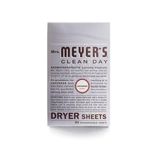 <strong>Mrs. Meyers</strong> Lavender Dryer Sheet (80 Pack)