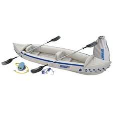 <strong>Sea Eagle Boats INC</strong> Deluxe Sport Kayak in White