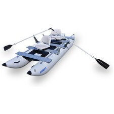 FoldCat Deluxe Boat in Gray