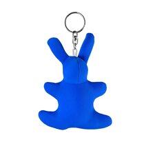 """Schlüsselanhänger """"Hase"""" in Blau"""