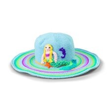 Kids' Mermaid Crochet Floppy Hat