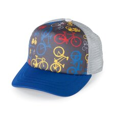 Kids' Bike Trucker Hat