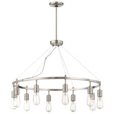 Downtown Edison 10 Light Chandelier