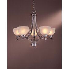 <strong>Minka Lavery</strong> Paradox 5 Light Chandelier - Energy Star