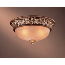 <strong>Minka Lavery</strong> Salon Grand 3 Light Flush Mount