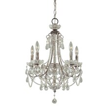<strong>Minka Lavery</strong> 5 Light Mini Chandelier