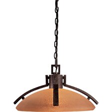 Raiden 1 Light Nook Inverted Pendant